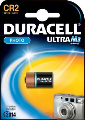 Батарейка CR2 Duracell Photo Ultra  M3 CR2 (1шт) - общий вид