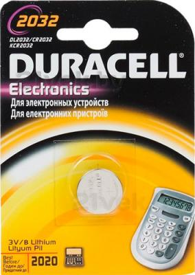 Батарейка CR2032 Duracell Specialistica Litio 2032 (1шт) - общий вид