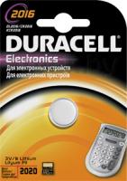 Батарейка CR2016 Duracell Specialistica Litio 2016 (1шт) -