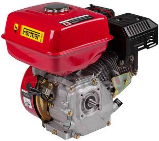 Двигатель бензиновый Fermer H170F - вполоборота