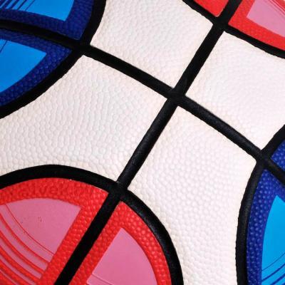 Баскетбольный мяч Motion Partner MP886 (размер 7) - швы