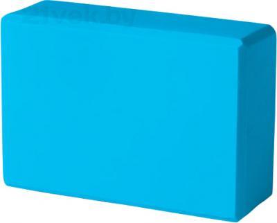 Блок для йоги Torres YL8005 (голубой) - общий вид