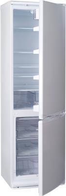 Холодильник с морозильником ATLANT ХМ 6024-100 - с полуоткрытой дверью