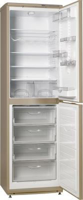 Холодильник с морозильником ATLANT ХМ 6025-050 - с открытой дверцей
