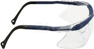 Очки защитные 3M QX1000 (прозрачная линза) - вид сбоку