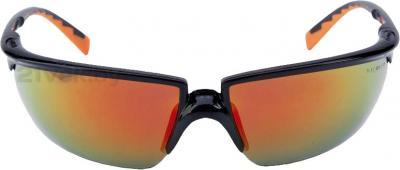 Защитные очки 3M Solus (красная линза) - общий вид