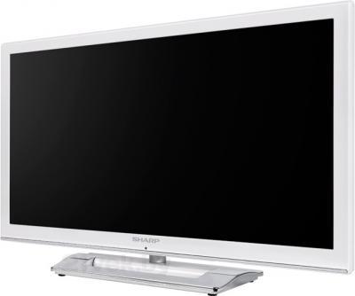 Телевизор Sharp LC24LE250RUWH - полубоком