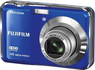 Компактный фотоаппарат Fujifilm FinePix AX600 (Blue) - общий вид