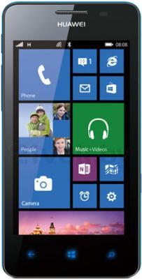 Смартфон Huawei Ascend W2 (Blue) - общий вид
