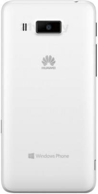 Смартфон Huawei Ascend W2 (White) - задняя панель