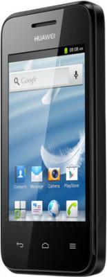 Смартфон Huawei Ascend Y220 (Black) - полубоком