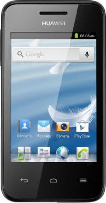 Смартфон Huawei Ascend Y220 (Black) - общий вид