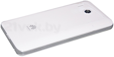 Смартфон Huawei Ascend Y220 (белый) - задняя панель