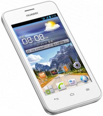 Смартфон Huawei Ascend Y220 (белый) - общий вид