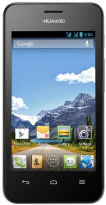 Смартфон Huawei Ascend Y320 (черный) - общий вид