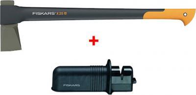 Топор-колун Fiskars 122482 (с точилкой) - общий вид