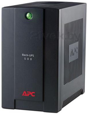 ИБП APC Back-UPS 500VA Standby with Schuko (BC500-RS) - общий вид