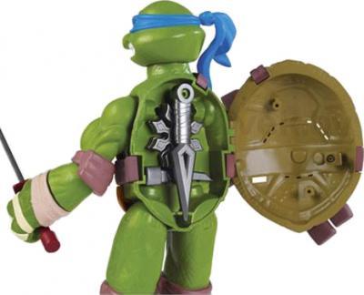 """Игровой набор Playmates Toys """"Черепашки Ниндзя"""" Леонардо (91220/91221) - вид сзади"""