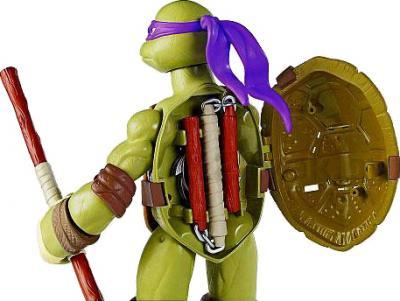"""Игровой набор Playmates Toys """"Черепашки Ниндзя"""" Донателло (91220/91222) - вид сзади"""
