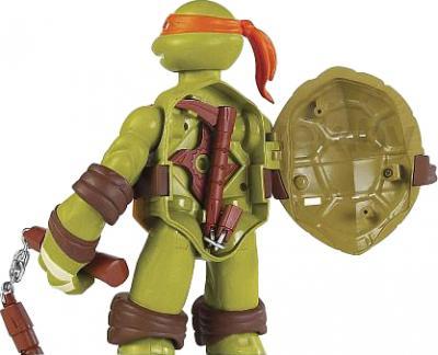"""Игровой набор Playmates Toys """"Черепашки Ниндзя"""" Микеланджело (91220/91224) - вид сзади"""