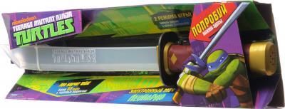 """Игровой набор Playmates Toys """"Черепашки Ниндзя"""" Электронный меч Лео 92060 - в коробке"""