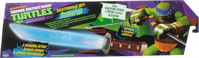 """Игровой набор Playmates Toys """"Черепашки Ниндзя"""" Электронный меч Лео 92060 - коробка"""