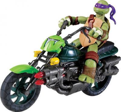 """Игровой набор Playmates Toys """"Черепашки Ниндзя"""" Мотоцикл (94052) - с фигуркой Донателло (фигурка в комплект не входит)"""