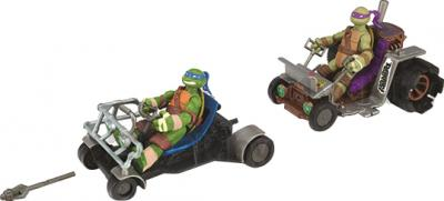 """Игровой набор Playmates Toys """"Черепашки Ниндзя"""" Патрульные Багги: Лео и Дон (94033) - общий вид (фигурки черепашек в комплект не входят)"""