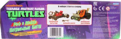 """Игровой набор Playmates Toys """"Черепашки Ниндзя"""" Патрульные Багги: Раф и Микки (94034) - коробка"""