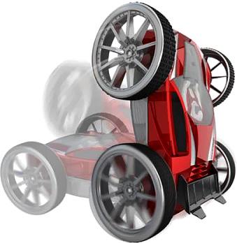 """Радиоуправляемая игрушка Silverlit Трюковая машинка """"Gyro Zee"""" 82412 (с гироскопом) - трюк"""