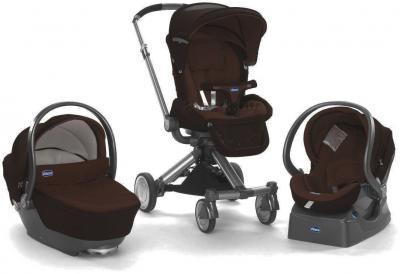 Детская универсальная коляска Chicco Trio I-Move (Brown) - 3 варианта использования