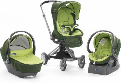 Детская универсальная коляска Chicco Trio I-Move (Green) - 3 варианта использования