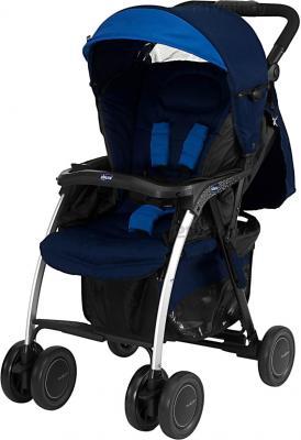 Детская прогулочная коляска Chicco Simplicity Plus (синий) - общий вид