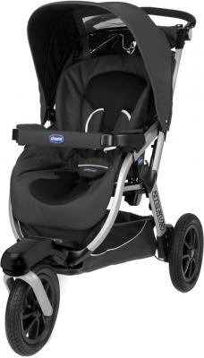 Детская универсальная коляска Chicco Activ3 (Anthracite) - прогулочный вариант