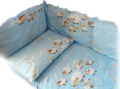 Комплект в кроватку Ночка Считалочка 4 - общий вид