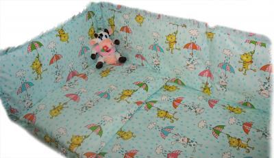 Комплект в кроватку Ночка Веселый дождик 4 - общий вид