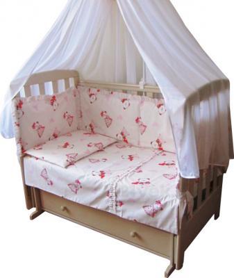 Комплект в кроватку Ночка Нежность 6 - общий вид