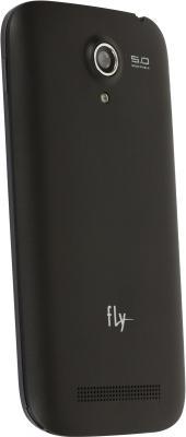 Смартфон Fly IQ4404 (черный) - задняя панель