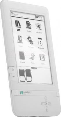 Электронная книга Inch C6i (White) - общий вид