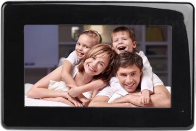 Цифровая фоторамка Inch F7i (Black) - вид спереди