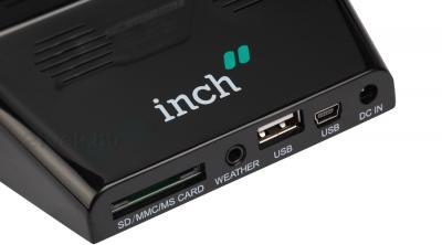 Цифровая фоторамка Inch W7i (черный) - разъемы