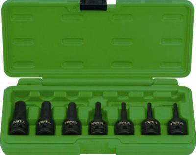 Набор оснастки Toptul GDAI0702 (7 предметов) - общий вид