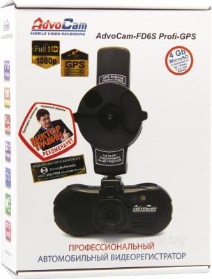 Автомобильный видеорегистратор AdvoCam FD6S Profi-GPS - коробка