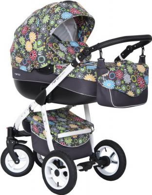 Детская универсальная коляска Riko Nano Flowers 2 в 1 (11) - общий вид