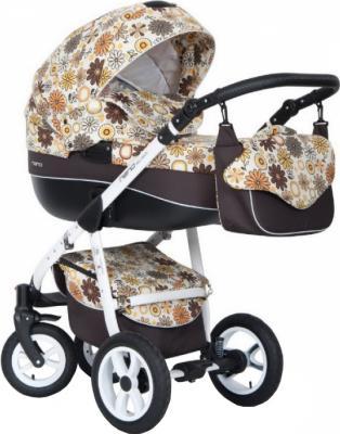 Детская универсальная коляска Riko Nano Flowers 2 в 1 (02) - общий вид