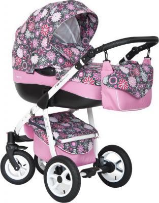 Детская универсальная коляска Riko Nano Flowers 2 в 1 (04) - общий вид
