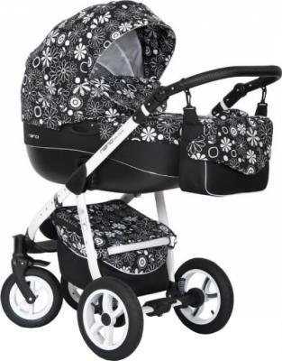 Детская универсальная коляска Riko Nano Flowers 2 в 1 (05) - общий вид