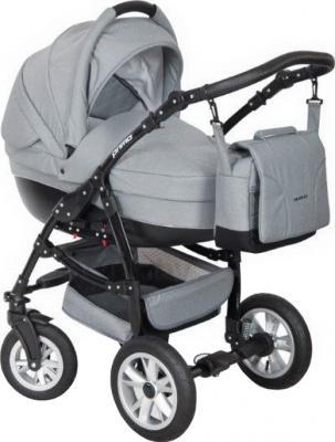 Детская универсальная коляска Riko Primo 2 в 1 (Carbon) - общий вид