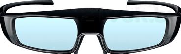 Очки 3D Panasonic TY-ER3D4ME - вид спереди