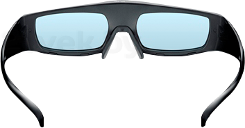 Очки 3D Panasonic TY-ER3D4ME - вид внутри